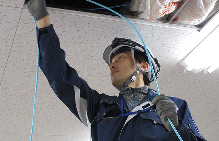電気通信工事の設計・施工