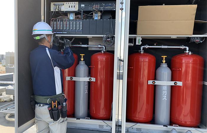 消防施設の施工・管理