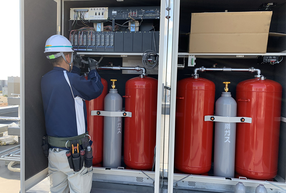 消防設備工事業